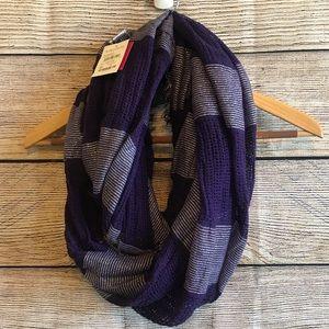 🌸Nordstrom BP Purple Infinity Scarf - OS